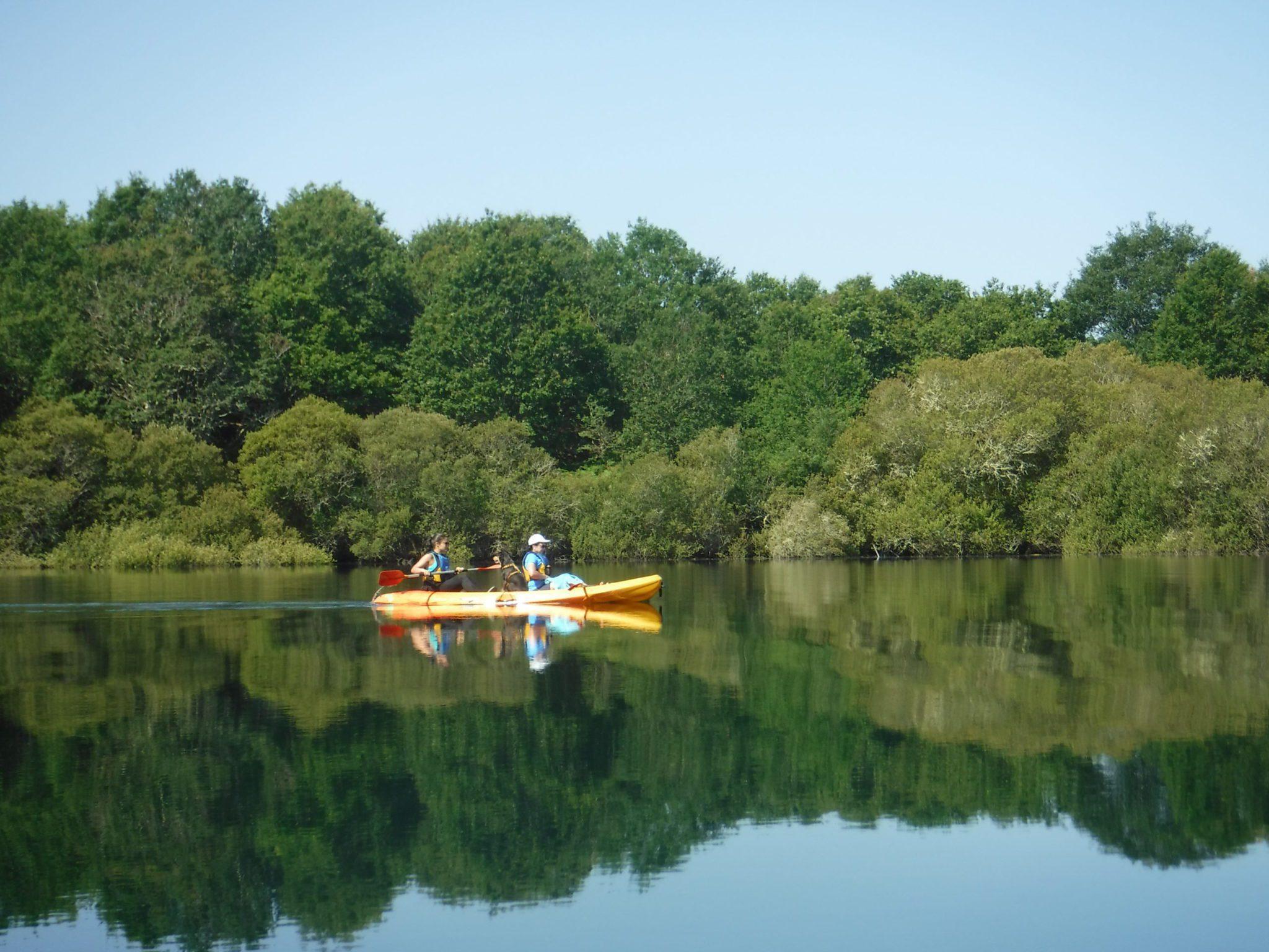 hiking kayak galicia