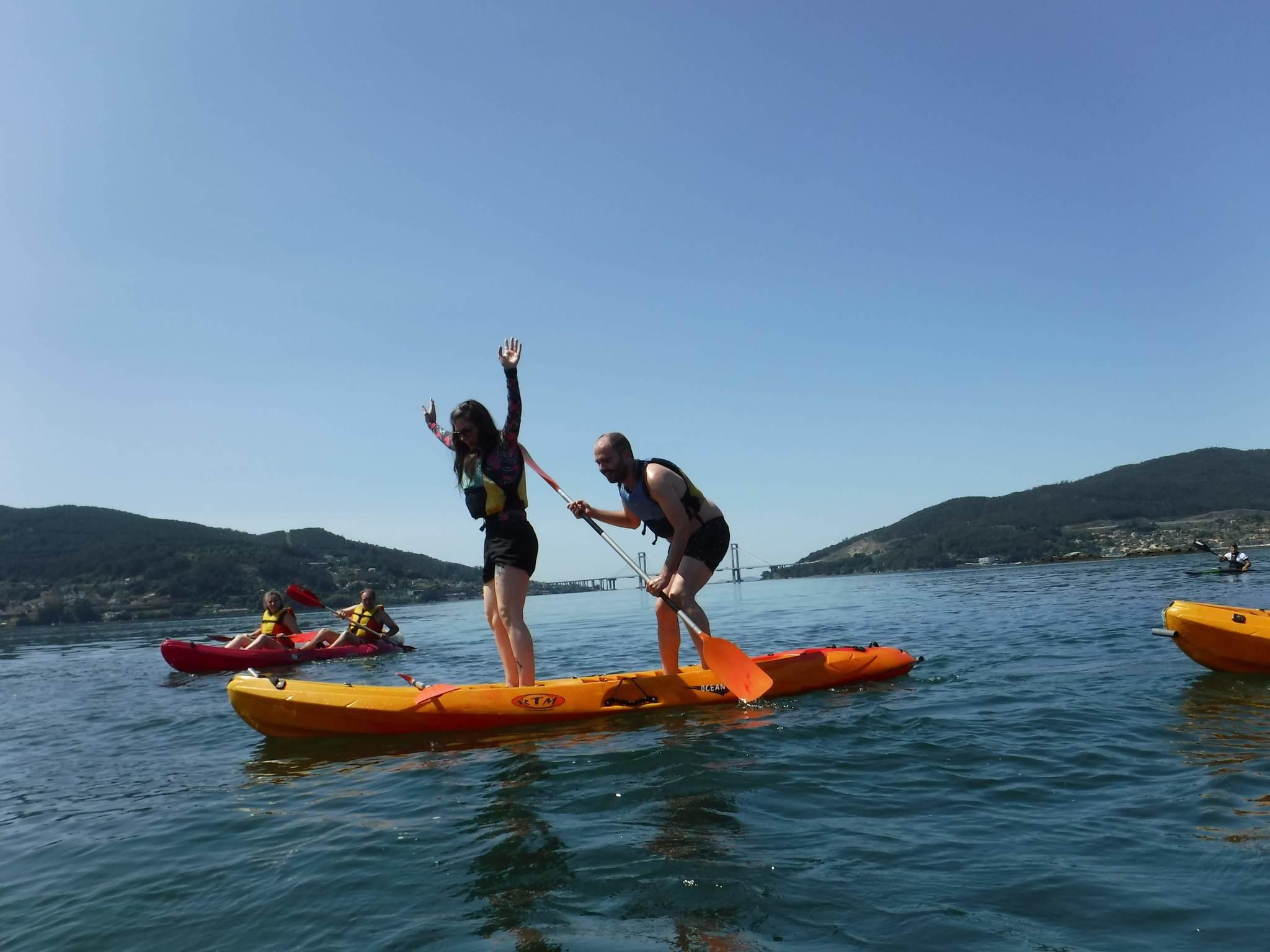 Kayak en San Simón